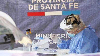 Coronavirus: La provincia lanza puestos fijos de hisopado en Rosario