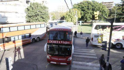 Los transportistas decidieron levantar el corte en la Terminal de Omnibus.