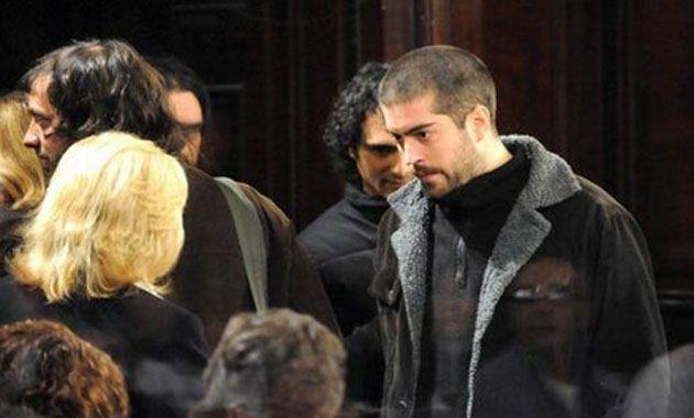 El músico pasó a la madrugada por Rosario como parte del trayecto a Córdoba.