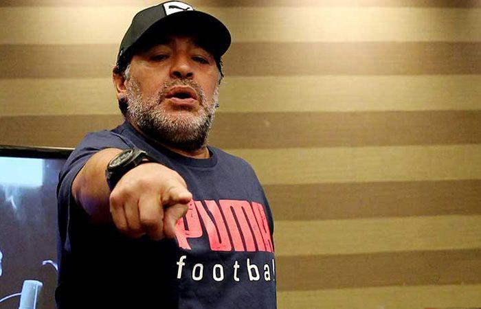 Diego Armando Maradona fue operado para colocarle un nuevo cinturón gástrico en una clínica de la ciudad de Maracaibo