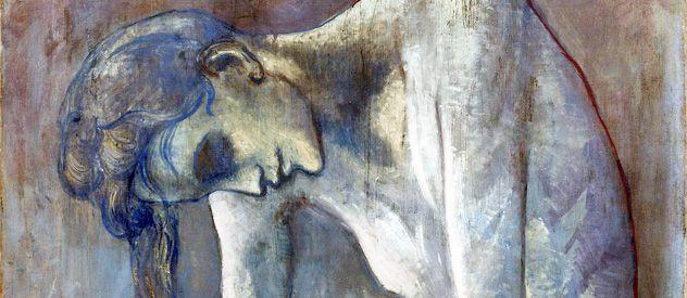La primera muestra de Picasso en blanco y negro