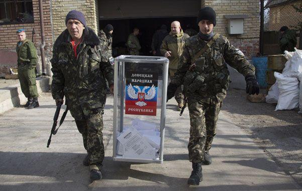Los separatistas fieles a Moscú destacaron que