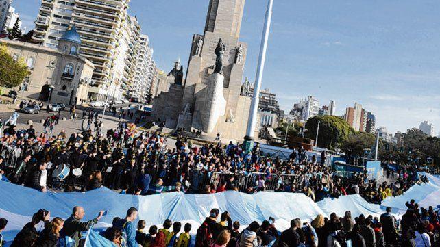 Día de la bandera. El 20 de Junio se vive con emotividad en Rosario.