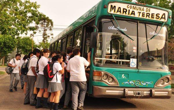 a todos lados. La comuna cuenta con un transporte público sin cargo.