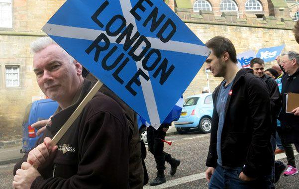 A once días del referéndum escocés