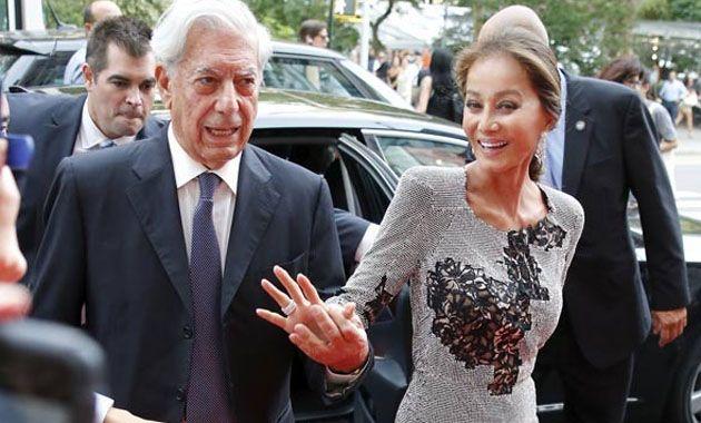 Isabel Preysler y Mario Vargas Llosa fueron los invitados estrellas de Porcelanosa en pleno Manhattan