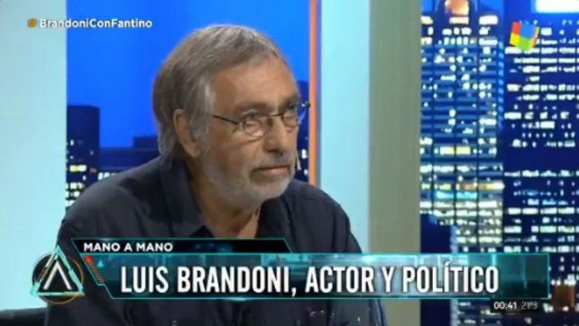 Brandoni: La frase tres empanadas es de un cinismo atroz