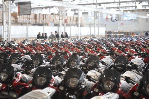 Consumo. Crece la venta de motos