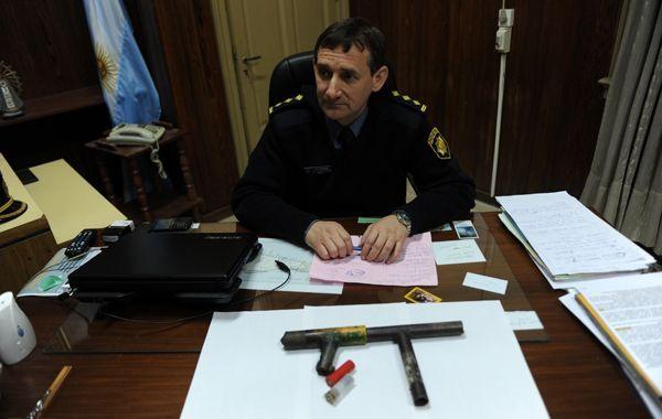 El arma secuestrada es de fabricación casera y fue llevada a la comisaría 7ª