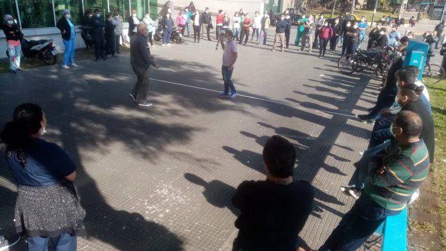 Colapso sanitario: agentes municipales alertan sobre la falta de personal