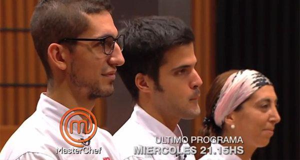 Se viene la final de MasterChef con Alejo y Martín como favoritos