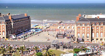 Los hoteles de 4 y 5 estrellas de Mar del Plata están colmados