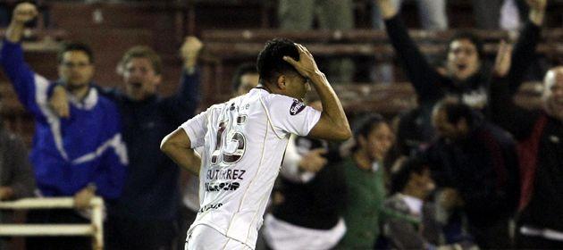 Teófilo Gutiérrez no regresó a los entrenamientos tras la caída ante Vasco por la Libertadores.