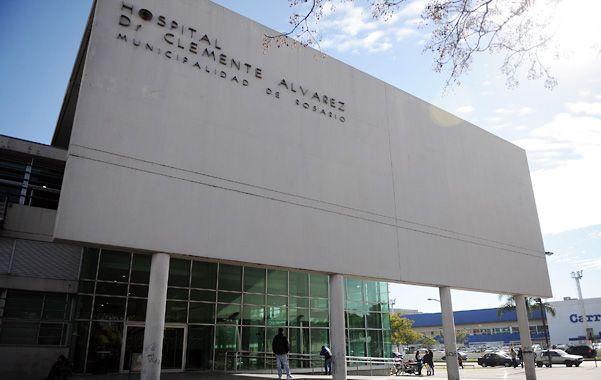 La mujer herida fue internada en el Hospital Clemente Alvarez.