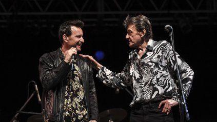 Los músicos en su última actuación en vivo, en el anfiteatro del porteño Parque Centenario el 17 de febrero pasado.