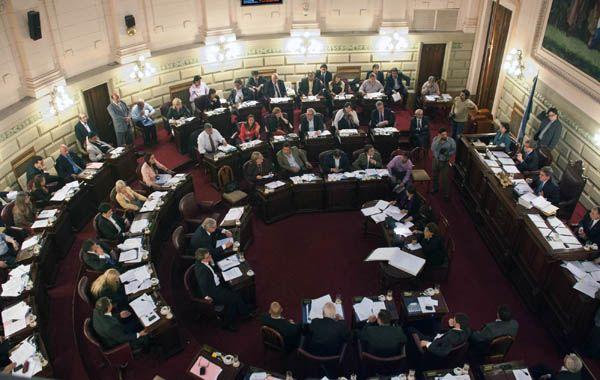 El señalamiento de Alicia Gutiérrez fue cuando Diputados discutió la emergencia en seguridad.
