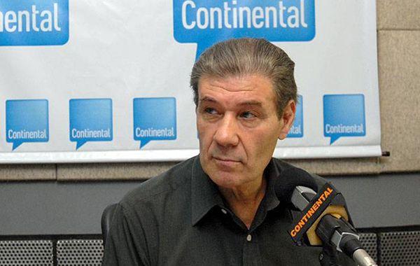 El periodista y conductor de Continental denunció la agresión.