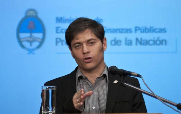 El ministro de Economía cuestionó el accionar de los tenedores de bonos.