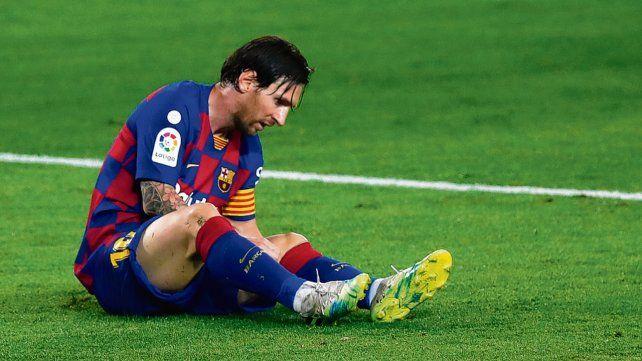 Pólvora mojada. Messi no pudo convertir pero metió su 250ª asistencia.