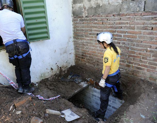 Los túneles fueron hallados en barrio La Granada. (Foto: S. Suárez Meccia)