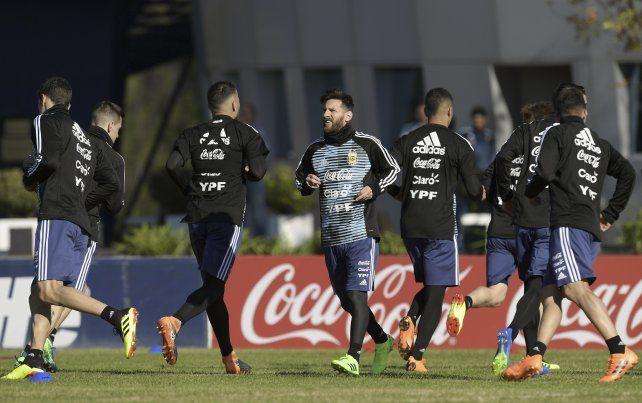 Argentina adelantó la práctica para ver Nigeria ante Islandia