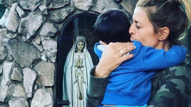 Eugenia Tobal publicó la primera foto de su pancita de embarazada