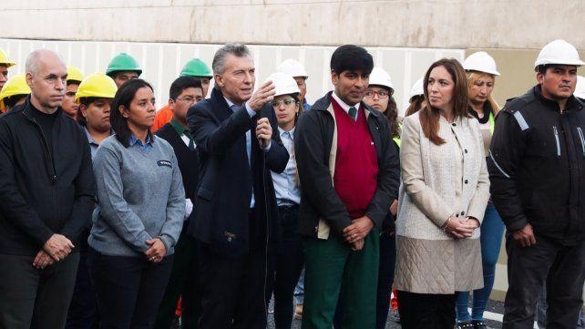 Macri dijo que hay que terminar con los vivos que se quedan con los recursos de los argentinos