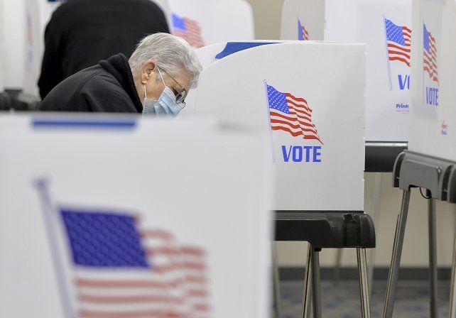 El voto anticipado alcanzó un récord histórico este año.