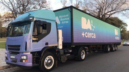 El camión estará frente al Monumento a la Bandera. (Prensa)