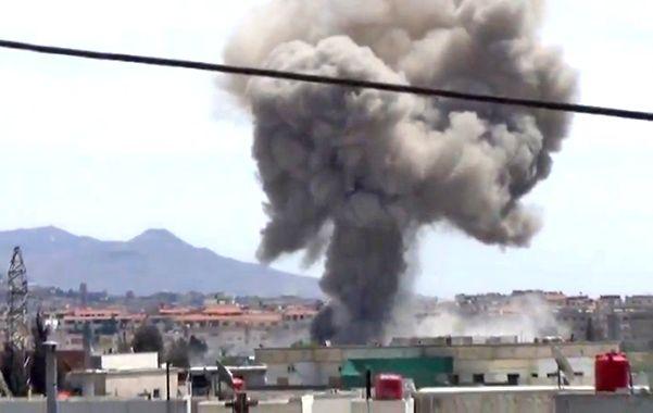 Bombardeo. La ciudad rebelde de Darayaa