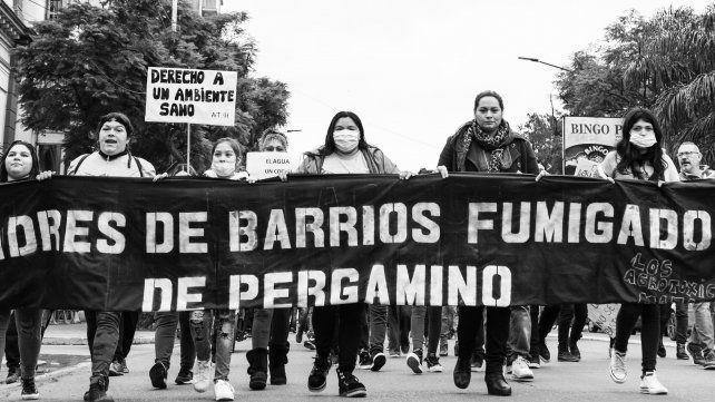 Las Madres de Barrios Fumigados de Pergamino encabezan la lucha para revertir la contaminación del ambiente y el daño en la salud de las personas.