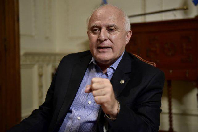 El gobernador de Santa Fe Miguel Lifschitz.