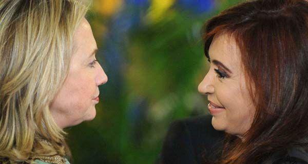 Hillary Clinton le pidió a Cristina renovar el compromiso de una relación fuerte y exitosa