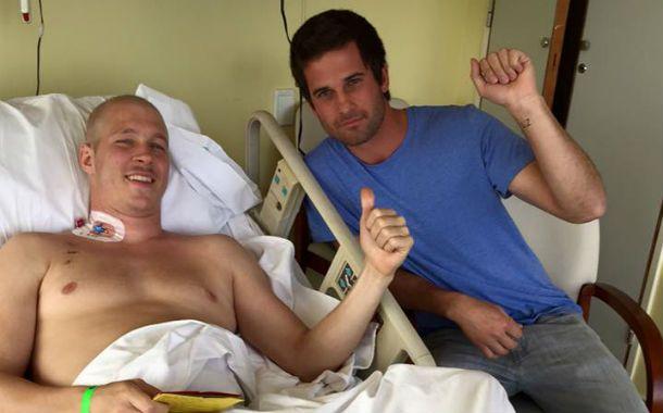 Lichu Zeno fue trasplantado con éxito y mostró su felicidad en las redes tras la intervención