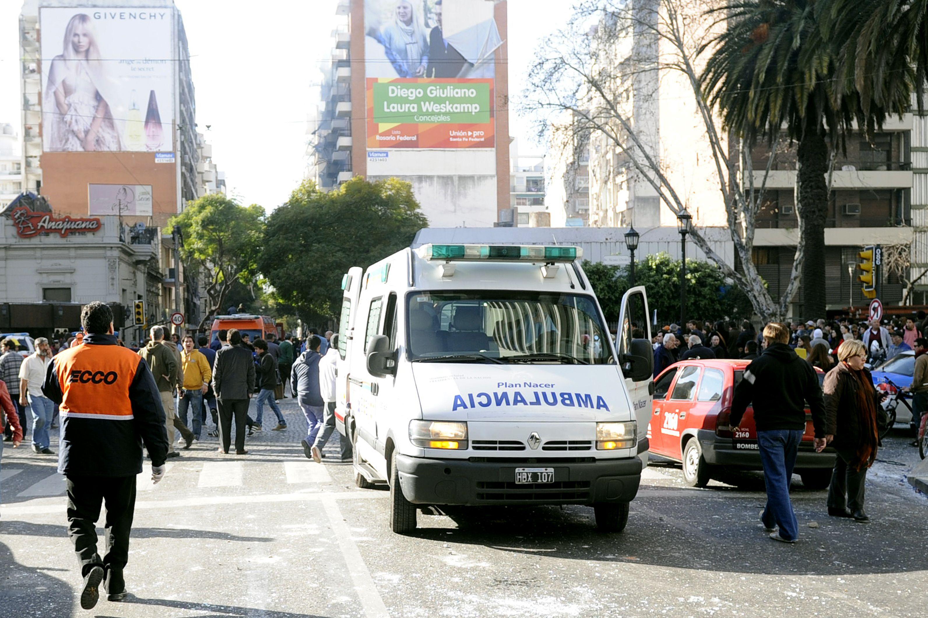 Los heridos por la explosión en Salta al 2100 fueron atendidos en distintos hospitales. (Foto: A. Celoria)