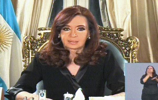 Fallo. Cristina consideró injusto con la Argentina el fallo de la Cámara de Apelaciones de Nueva York.
