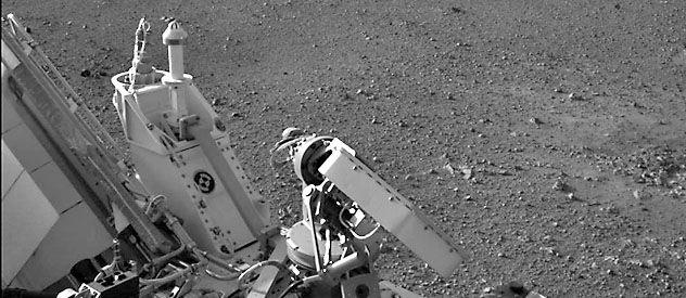 El robot Curiosity puesto en Marte esta semana tras una tan complicadísima como exitosa misión.