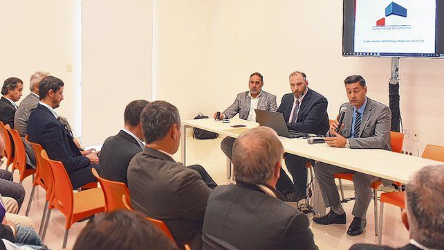 Presentación. El convenio con Emiratos Arabes facilitará la vinculación de negocios entre empresarios.