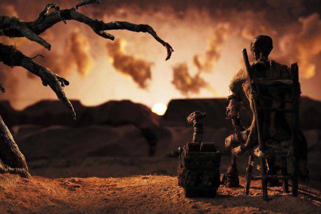 """""""Epirenov"""" narra la historia de un personaje que busca un compañero en una Tierra devastada."""