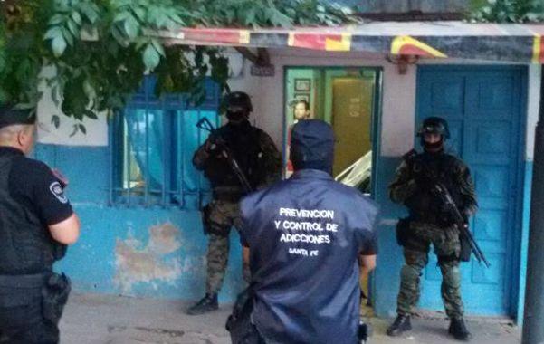 Jazmín al 7100. En marzo hubo secuestro de droga en la casa de Leandro S.