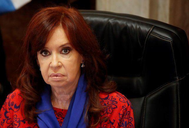 Cristina Kirchner reaccionó con dureza contra la Corte.