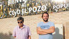 Miguel Ángel Acevedo y Martín Montenegro encabezan como presidente y vicepresidente respectivamente, el Centro Cultural y Deportivo El Pozo