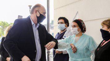 Perotti en Rosario: La pandemia no terminó y hay que estar preparados