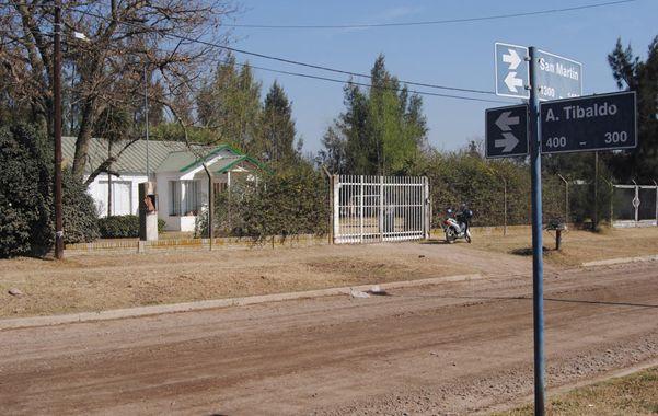 El supuesto lugar de los abusos. El Hogar de Tránsito para Niños del Centro Comunitario Fátima de El Trébol.