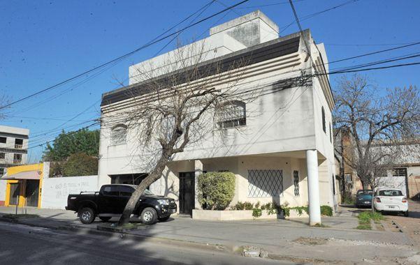 El lugar. La familia Bertini vive en una casa de dos plantas de Lima al 800