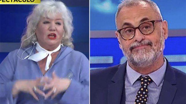 La ex esposa de Luis Ventura se espantó por algo que dijo Jorge Rial