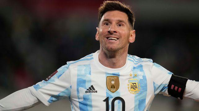 Toda la alegría en el rostro de Lionel Messi