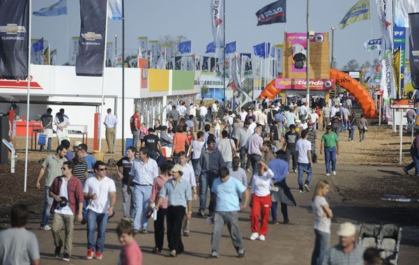 Buen clima. Los organizadores contaron 72 mil asistentes en Agroactiva.
