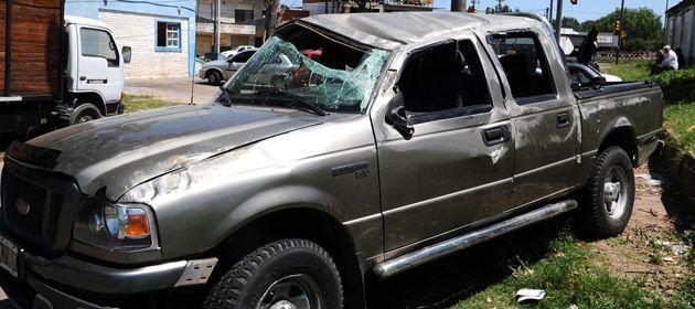 El test de alcoholemia al chofer de la camioneta dio el triple de lo permitido