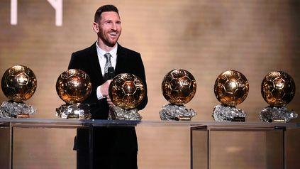Messi es el máximo ganador histórico del galardón, con seis.